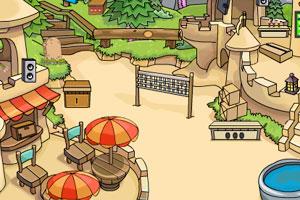 《逃离沙漠小镇》游戏画面1
