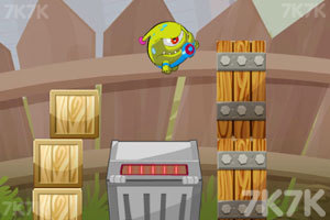 《外星怪进盒子》游戏画面2