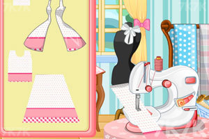 《设计漂亮的漫画裙》游戏画面3