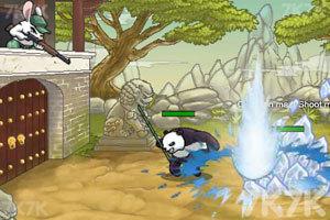 《兔子大战熊猫》游戏画面6