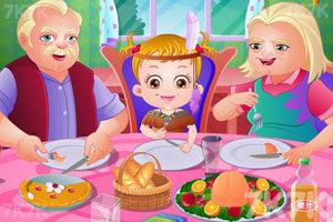 《可爱宝贝家庭晚餐聚会》游戏画面1