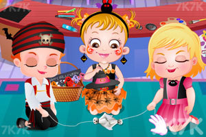 《可爱宝贝过万圣节》游戏画面4