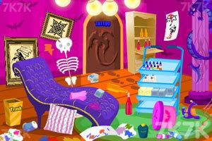 《女孩打扫纹身店》游戏画面1