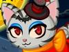 可爱小猫过万圣节