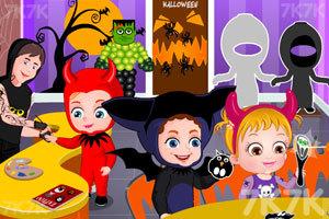 《可爱宝贝的城堡万圣节》游戏画面3