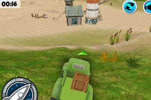 《农场的绿色货车》截图1