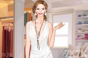 《时尚吊带长裙》游戏画面2