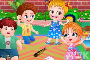 《可爱宝贝的花园聚会》游戏画面4