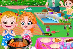《可爱宝贝的花园聚会》游戏画面5