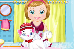 《麦丽莎照顾宠物猫咪》截图3