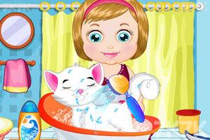 《麦丽莎照顾宠物猫咪》截图1