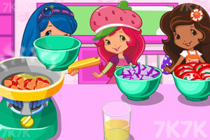 草莓公主学做汤