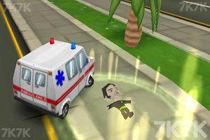 《3D救护车》游戏画面2