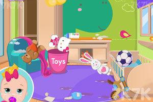 《漂亮的婴儿房》游戏画面1