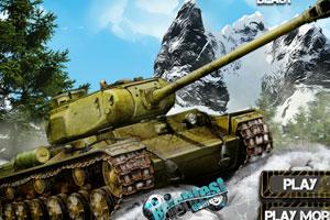 《冬季坦克出击》游戏画面1