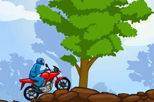 《摩托森林挑战》游戏画面1