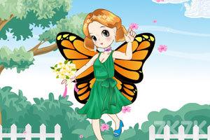 《萌萌的蝴蝶女孩》游戏画面3