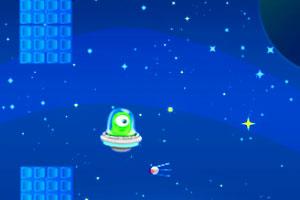 《飞扬的UFO》游戏画面1