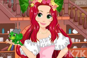 《长发公主美发》游戏画面2