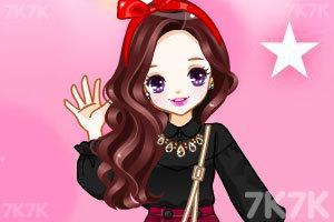 《樱桃公主换冬装》游戏画面3
