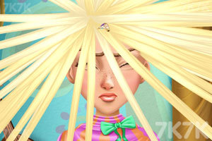 《长发公主的百变发型》游戏画面5