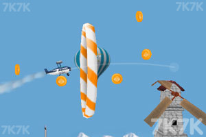 《飞翔的小飞机》游戏画面1