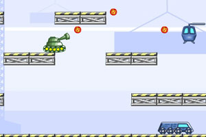 《坦克也疯狂》游戏画面1