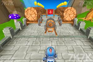 《小小骑士也酷跑》游戏画面2