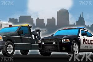 《3D警车停靠》截图3
