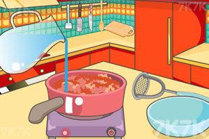《米娅做奶酪热狗》游戏画面1