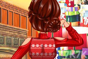 《特别的圣诞节发型》游戏画面2