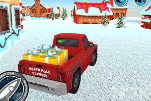 《送圣诞礼物的卡车》游戏画面4