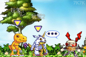 《超数码宝贝大冒险》游戏画面3