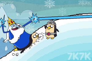 《浪漫的冰雪国王》游戏画面2
