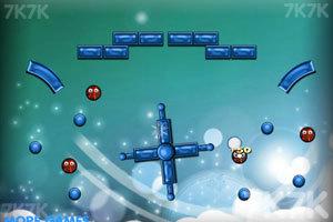 《雪球打火球》游戏画面1