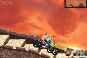 《小头爸爸摩托大赛》游戏画面3