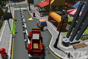 《城市停靠小货车》截图5