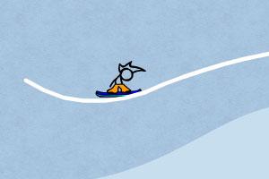 火柴人冰雪滑板无敌版