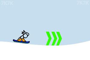 《火柴人冰雪滑板》游戏画面6