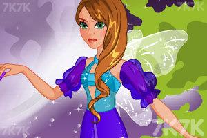 《时尚的精灵服饰》游戏画面1