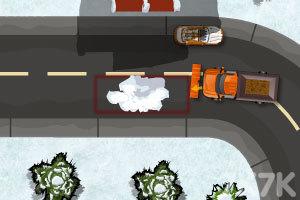 《铲雪车停靠》游戏画面3