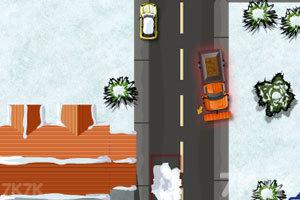 《铲雪车停靠》游戏画面2