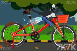 《佐伊骑车摔倒》游戏画面2