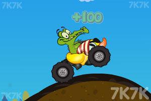 《鳄鱼小顽皮赛车》游戏画面4