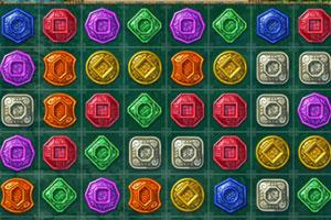 《神秘祖玛对对碰》游戏画面1