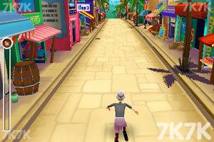 《愤怒奶奶玩跑酷1.8无敌版》游戏画面3