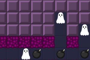 《幽灵撞炸弹》游戏画面1