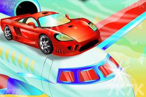 《飞机上的跑车》游戏画面1