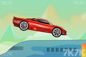 《飞机上的跑车》游戏画面3