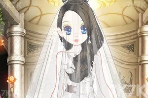 《森迪公主的婚纱装扮》游戏画面3